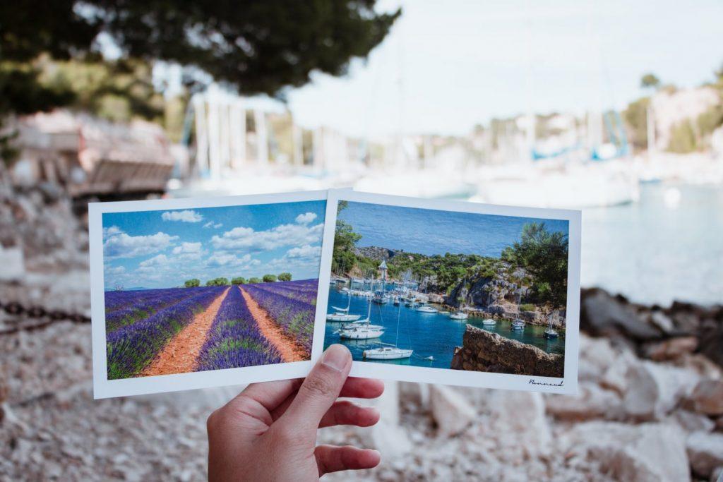 Cartes postales de Provence