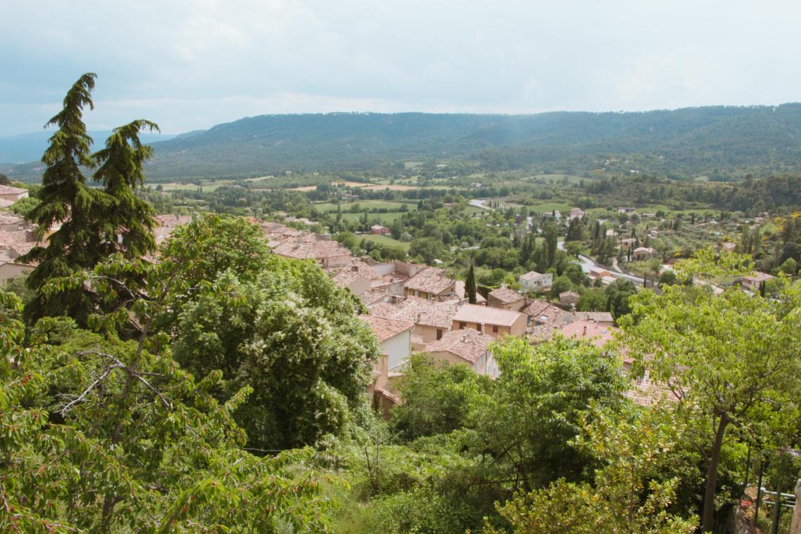 Panorama de Moustiers-Sainte-Marie