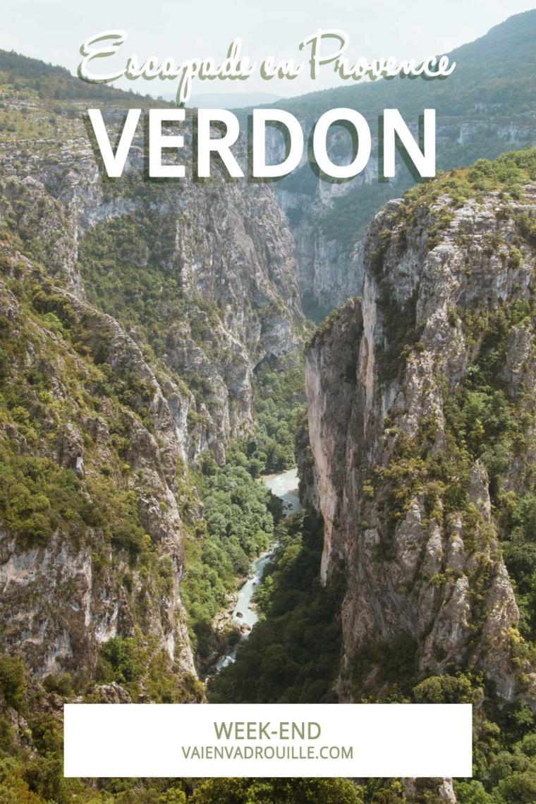 Escapade en Provence : les gorges du Verdon et Moustiers-Sainte-Marie
