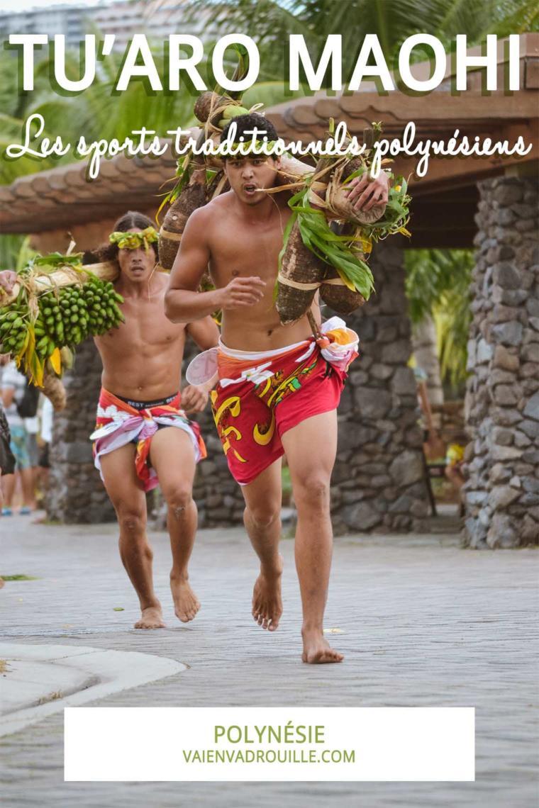 Tu'aro maohi : les sports traditionnels polynésiens
