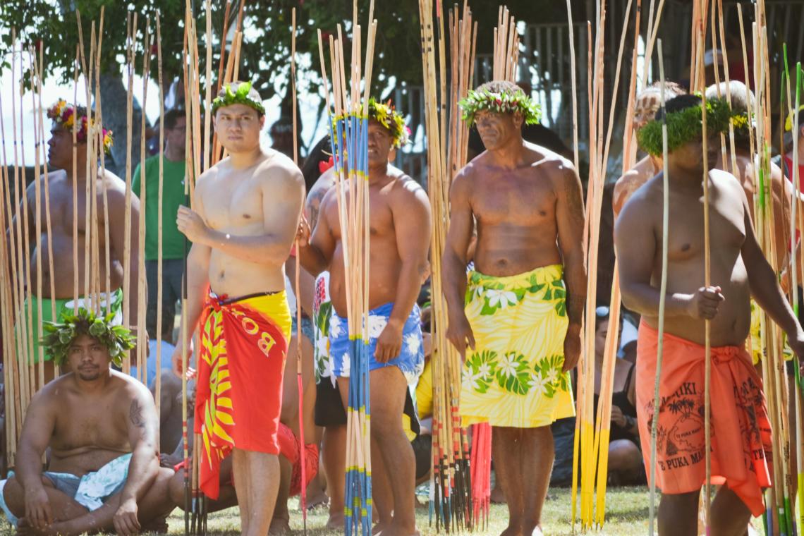 Le lancer de javelot, un sport traditionnel polynésien