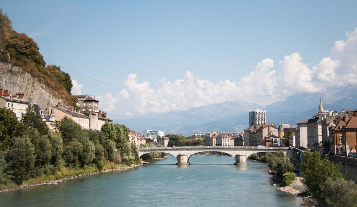 Sur les bords de l'Isère, Grenoble