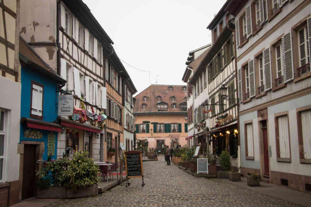 Le quartier Petite France de Strasbourg