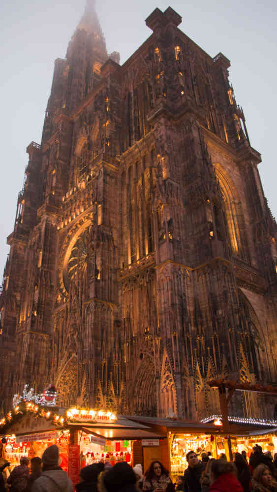 Marché de Noël et cathédrale de Strasbourg