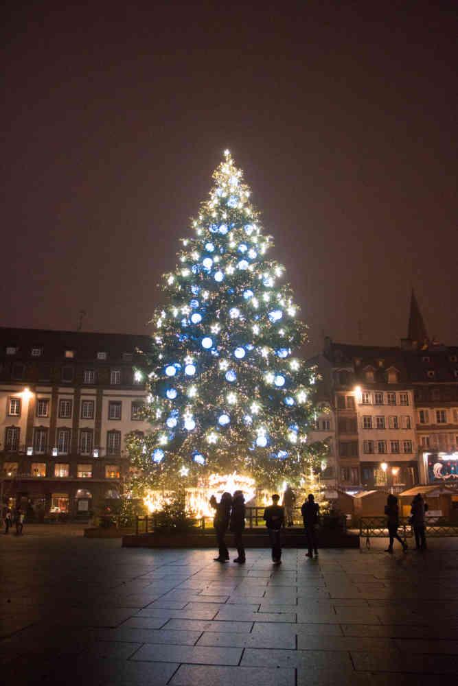 Le marché de Noël de la place Kléber à Strasbourg
