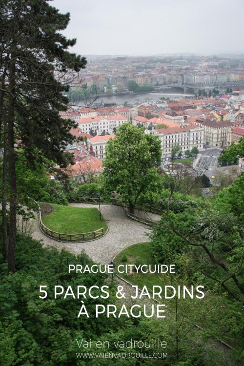 Prague cityguide - 5 parcs & jardins - Vai en vadrouille