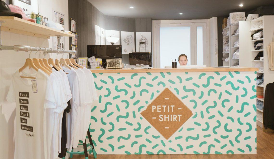 Petit Shirt, atelier d'impression textile à Grenoble