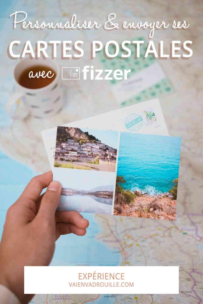 Personnaliser et envoyer ses cartes postales avec Fizzer