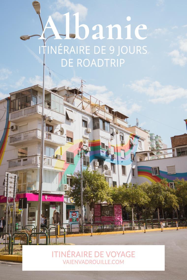 Roadtrip en Albanie : voici notre itinéraire de 9 jours dans le sud, de Tirana à Ksamil #roadtrip #travel #voyage #albanie #itinéraire