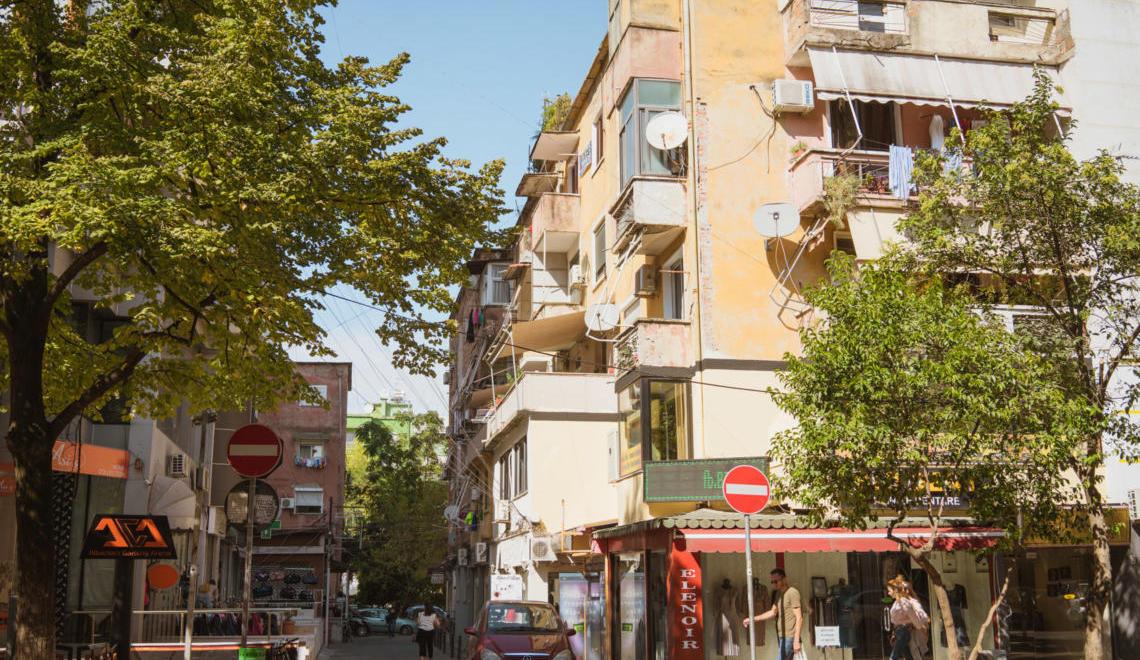 Carnet de voyage en Albanie : Tirana