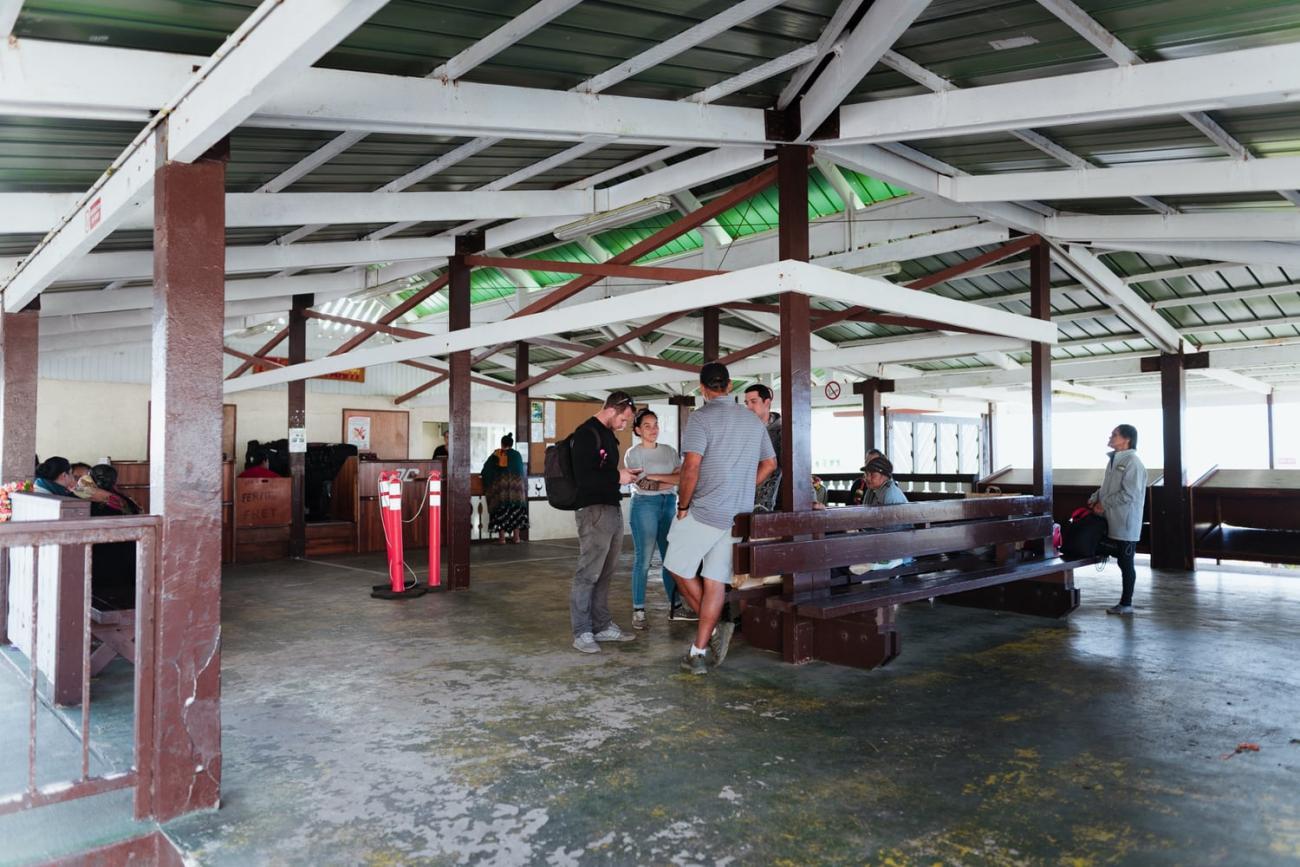 Aérodrome de Rurutu, archipel des Australes, Polynésie française