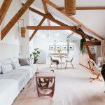 Le loft de la chambre d'hôtes La Maison & l'Atelier, dans l'Oise