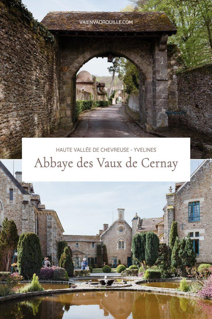 Visite de l'Abbaye des Vaux de Cernay en Haute Vallée de Chevreuse dans les Yvelines - Idée de week-end nature et patrimoine en Île-de-France